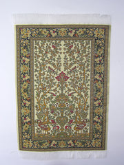 MEDIUM Dolls house Turkish RUG/ CARPET [5d] 12th scale