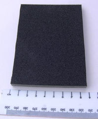 Black FIRM FOAM PAD flower making craft hobby