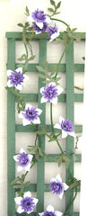 CLEMATIS 'Sieboldii' Dolls house Flower Kit 12th Scale