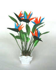 BIRD of PARADISE flower kit 12th scale