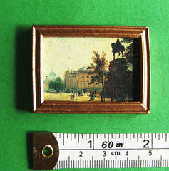 PICTURE 'STATUE' dolls house miniature SALE