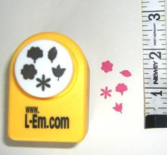 Tiny Flower & leaf 5 in 1 Floral Craft PUNCH Leone Em
