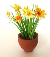 Miniature Flower Kit DAFFODILS Dolls house plant 12TH