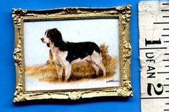 Animal PICTURE 'King Charles Spaniel' 1:12