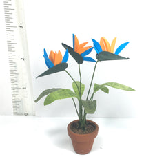 Bird of Paradise PLANT Handmade  1:12 SALE