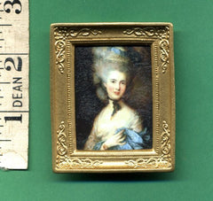PICTURE 'Portrait  of  Lady in Tall Wig  ' 1:12