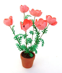 Flower Kit GIANT POPPIES - PINK 12th scale