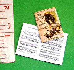 Dolls House SHEET MUSIC 'Valse Septembre' 1:12