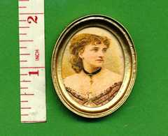 PORTRAIT Victorian Lady [1] Dolls House Miniature SALE