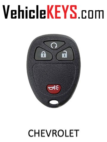 CHEVY REMOTE SHELL 4 Button
