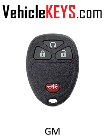 GM REMOTE SHELL 4 Button