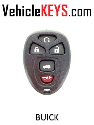 BUICK REMOTE SHELL 5 Button