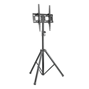 Tilting TV Mount with Portable Tripod Stand