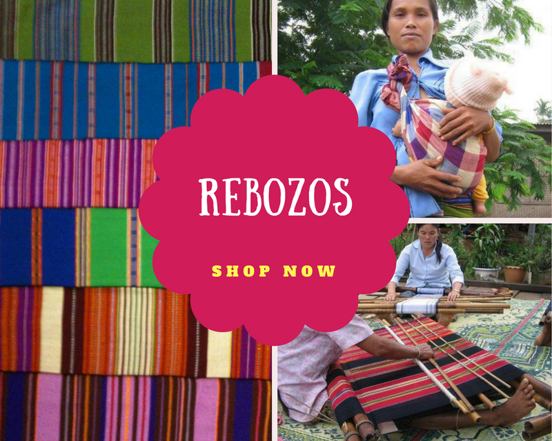 Traditional Rebozos ~ WHOLESALE-Labour & Doula Supplies-Birth Supplies Canada