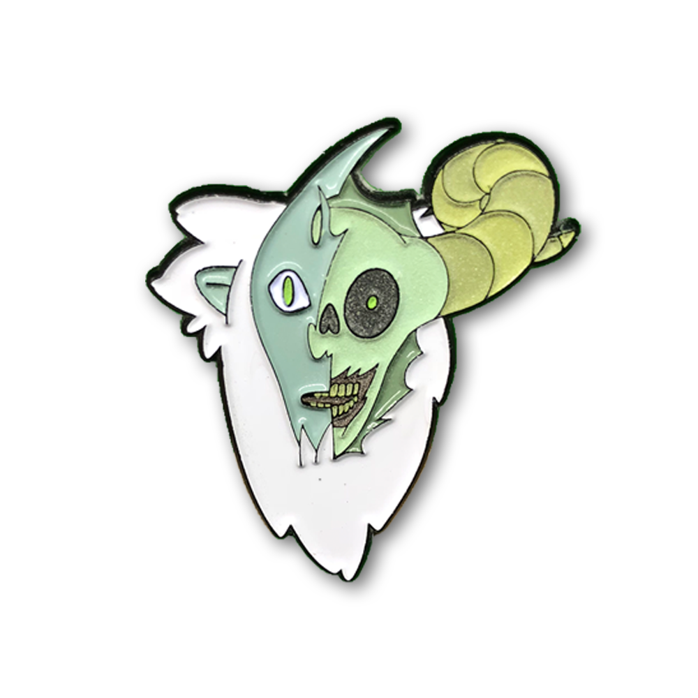Billy the Lich Pin (Glow in the dark)
