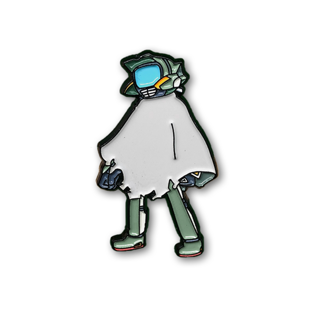 Cool Fool Pin