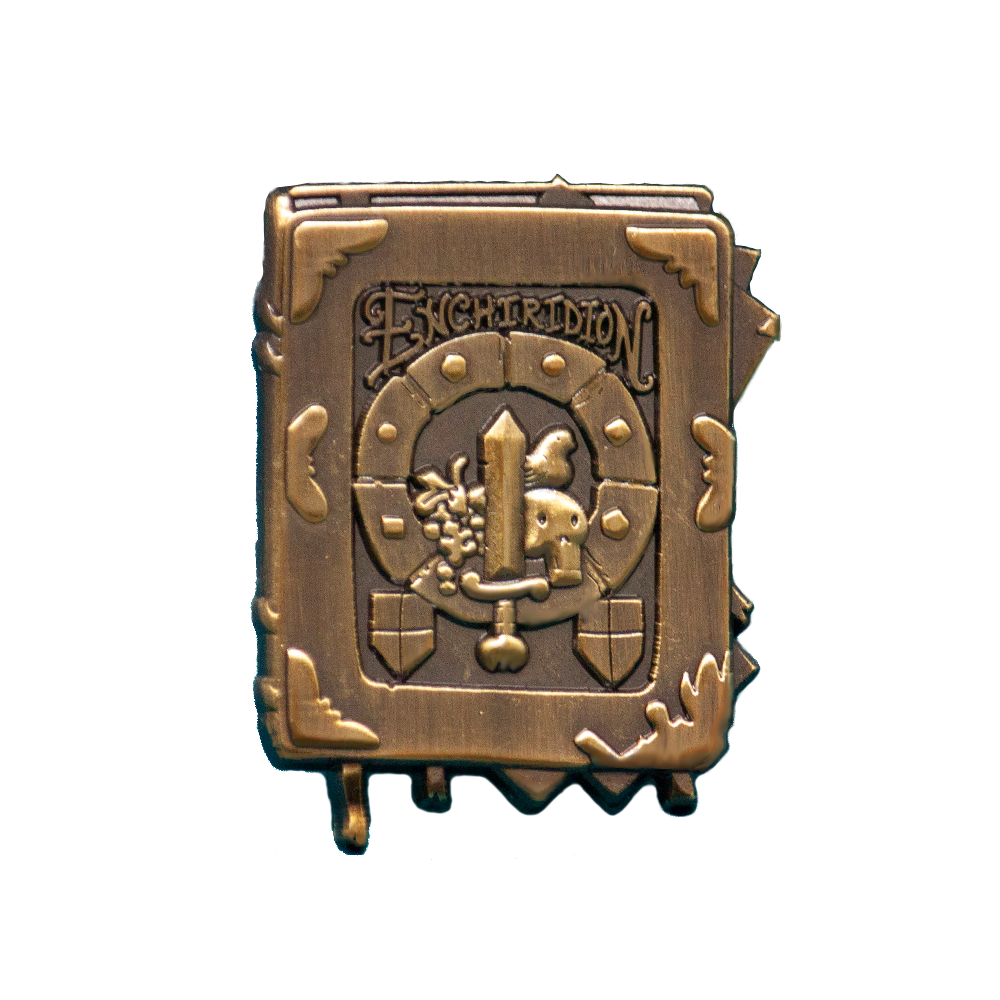 The Enchiridion Pin