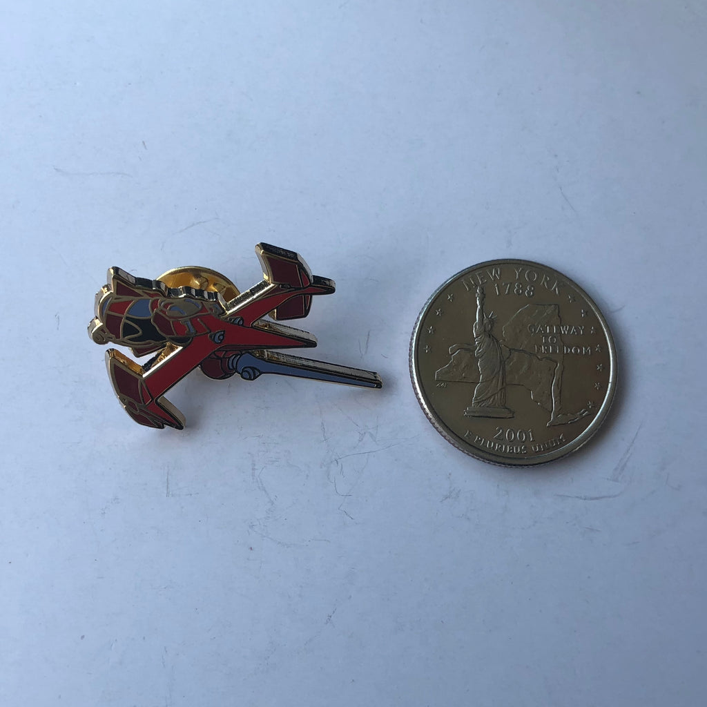 Swordfish and Red Tail Pin Set