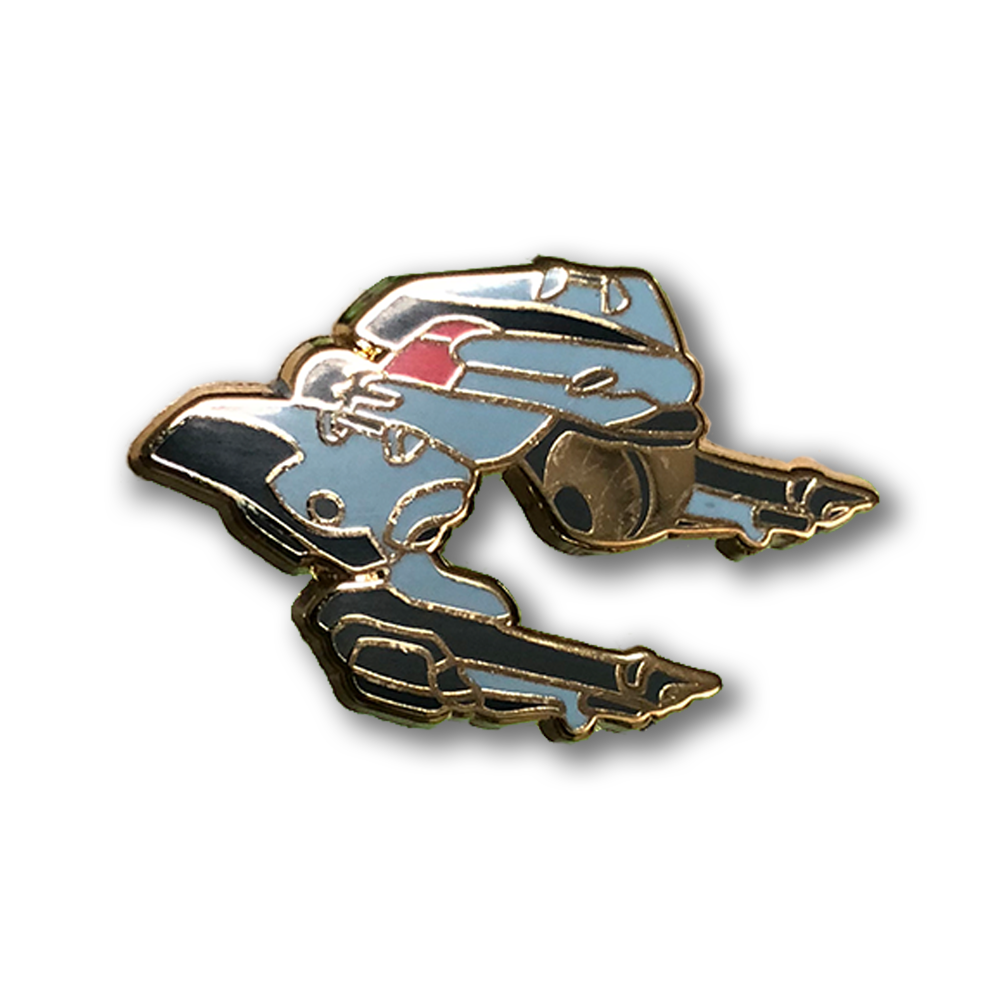 Swordfish & Red Tail Pin Set