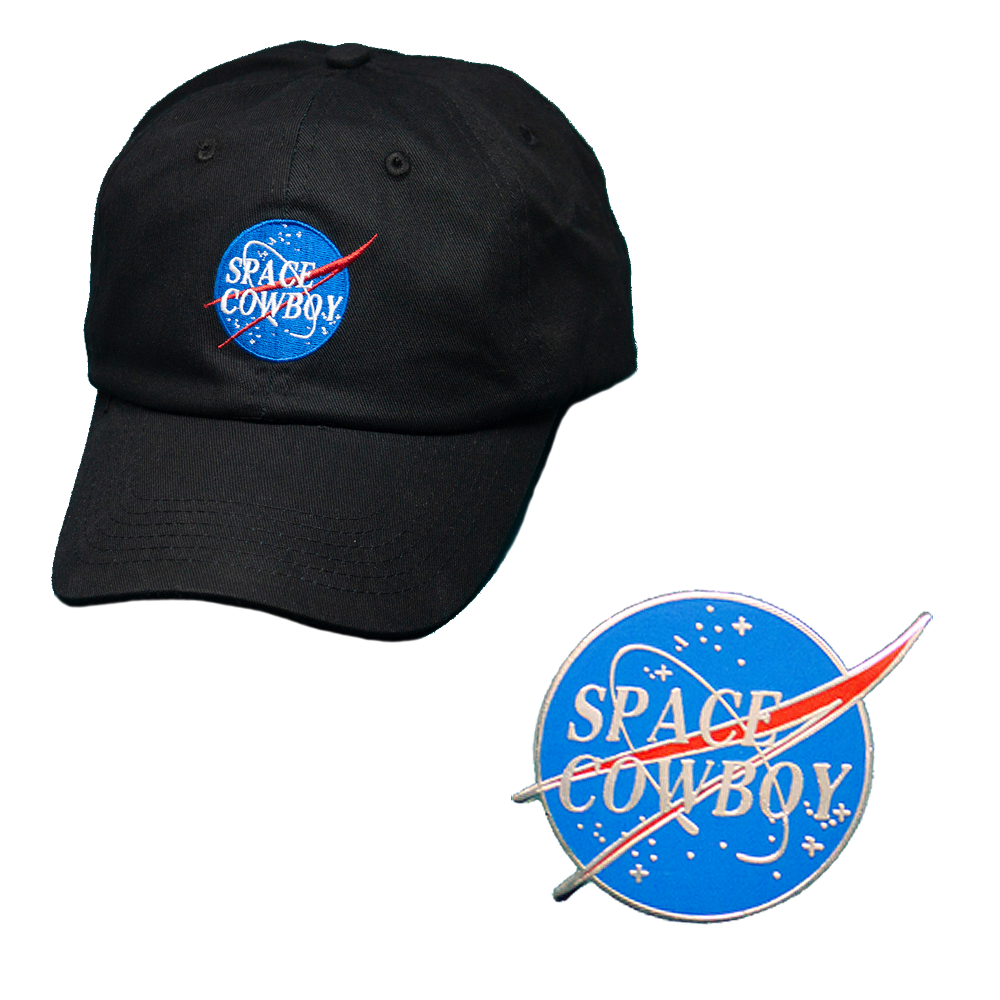 Space Cowboy Pin Set