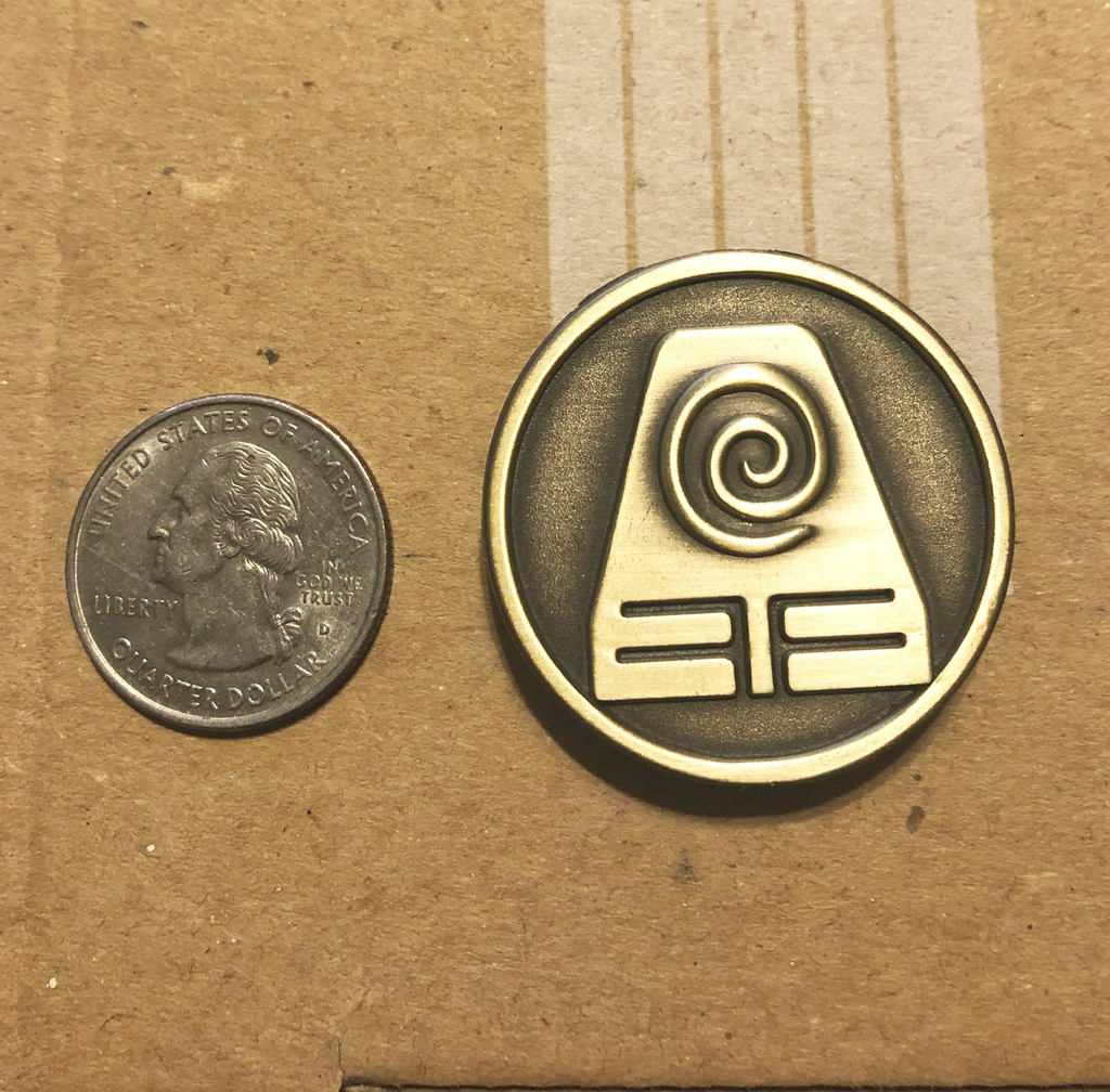 Earthbender Pin