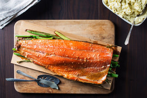 Wild Coho Maple Salmon Recipe