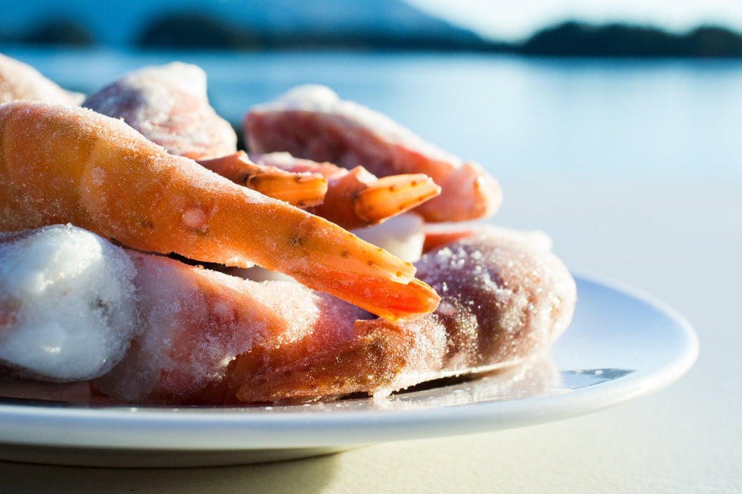 Wild Alaskan Spot Prawns Box: Sitka Holiday Sale