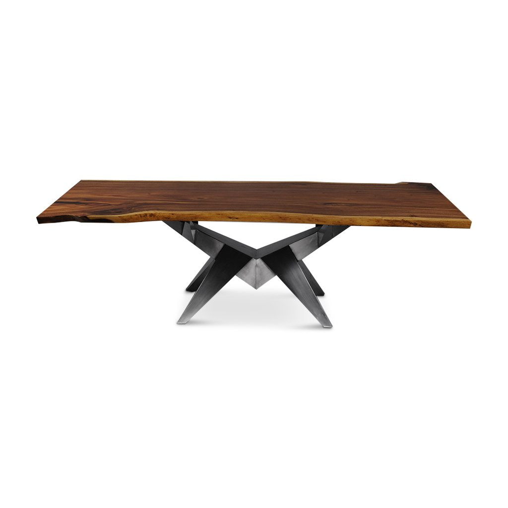 Chelan Live Edge Dining Table | 8 ft | SKU 1608-32A