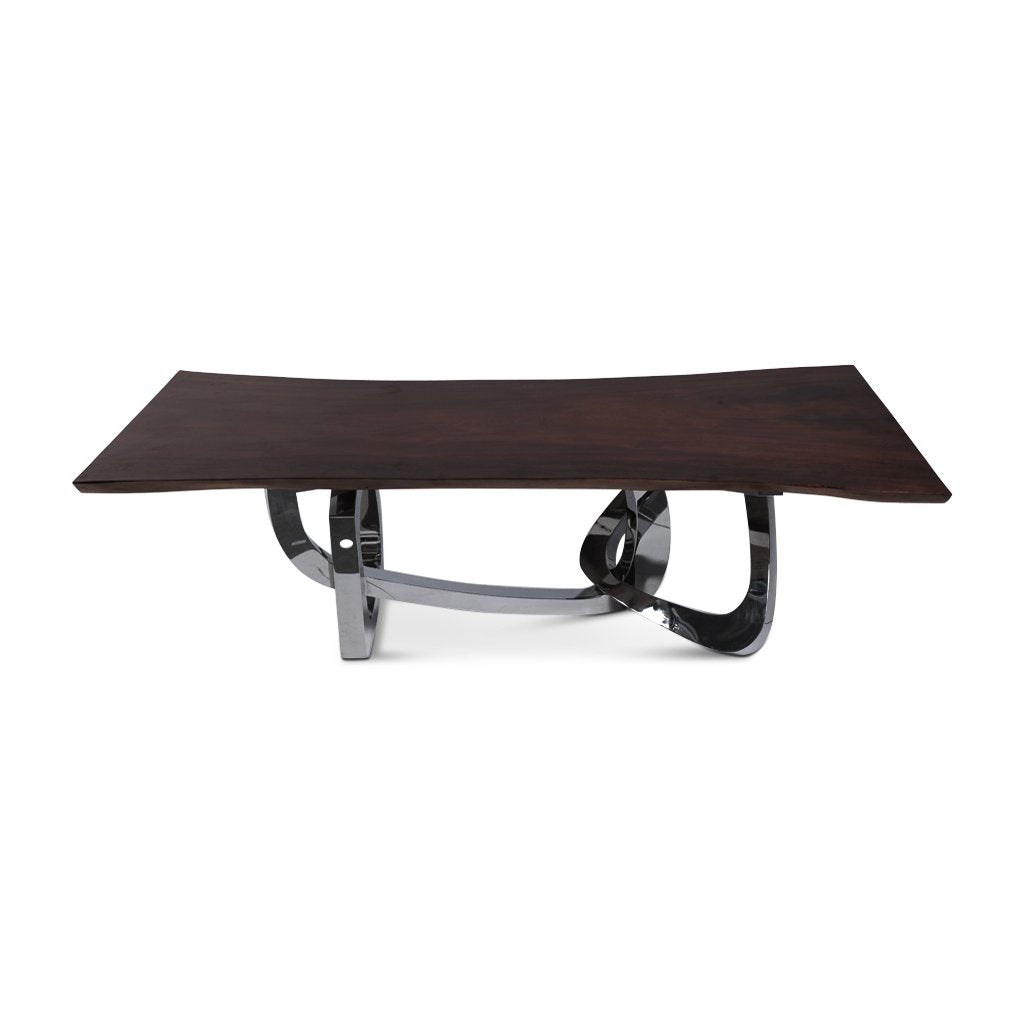 Davie Live Edge Dining Table | 8.1ft | SKU 1608-53A