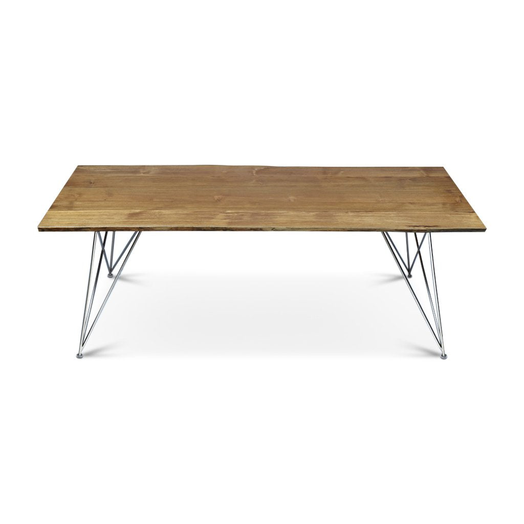Corsica Live Edge Dining Table | 7.25ft | SKU 1608-S2