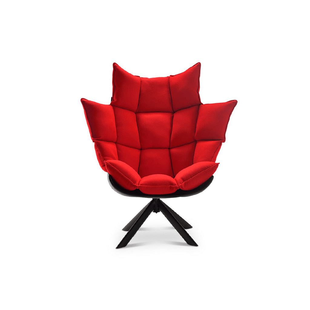 Husk Chair High Back - Wood Base