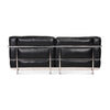 LC3 Grand Modele Two-Seat Sofa With Down Cushions