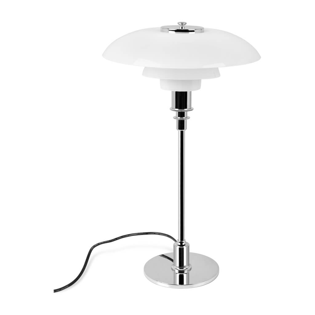 PH 3 1/2 - 2 1/2 Glass Table lamp
