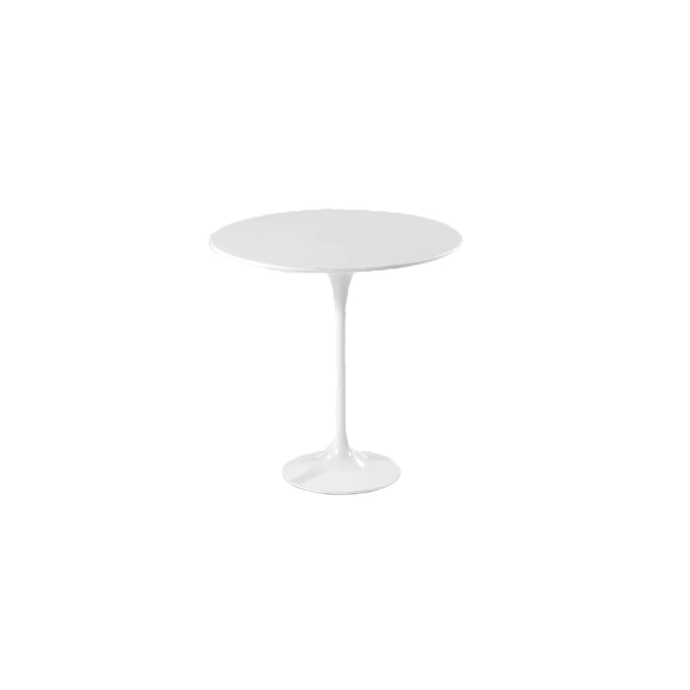 White Lacquer Tulip Side Table