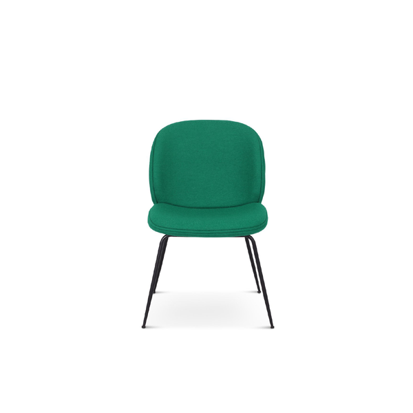 Beetle Dining Chair - Leather Upholstered  - EternityModern