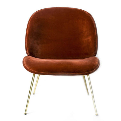 Beetle Lounge Chair - Leather Upholstered