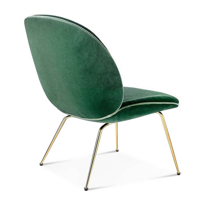Beetle Lounge Chair - Yellow Gold Legs