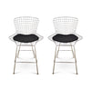 Set of Two Bertoia Counter Stools