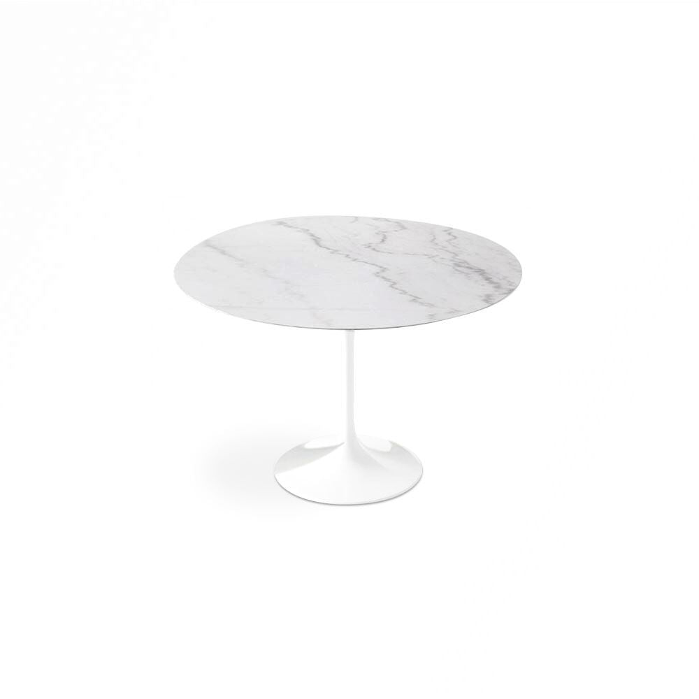 Calacatta Gold Marble Tulip Dining Table - Round