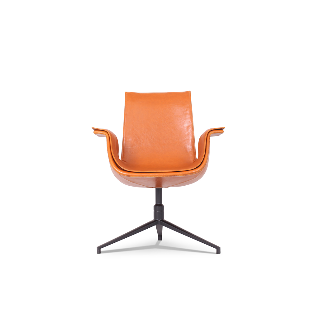 FK 6726 Bucket Chair Completely Upholstered