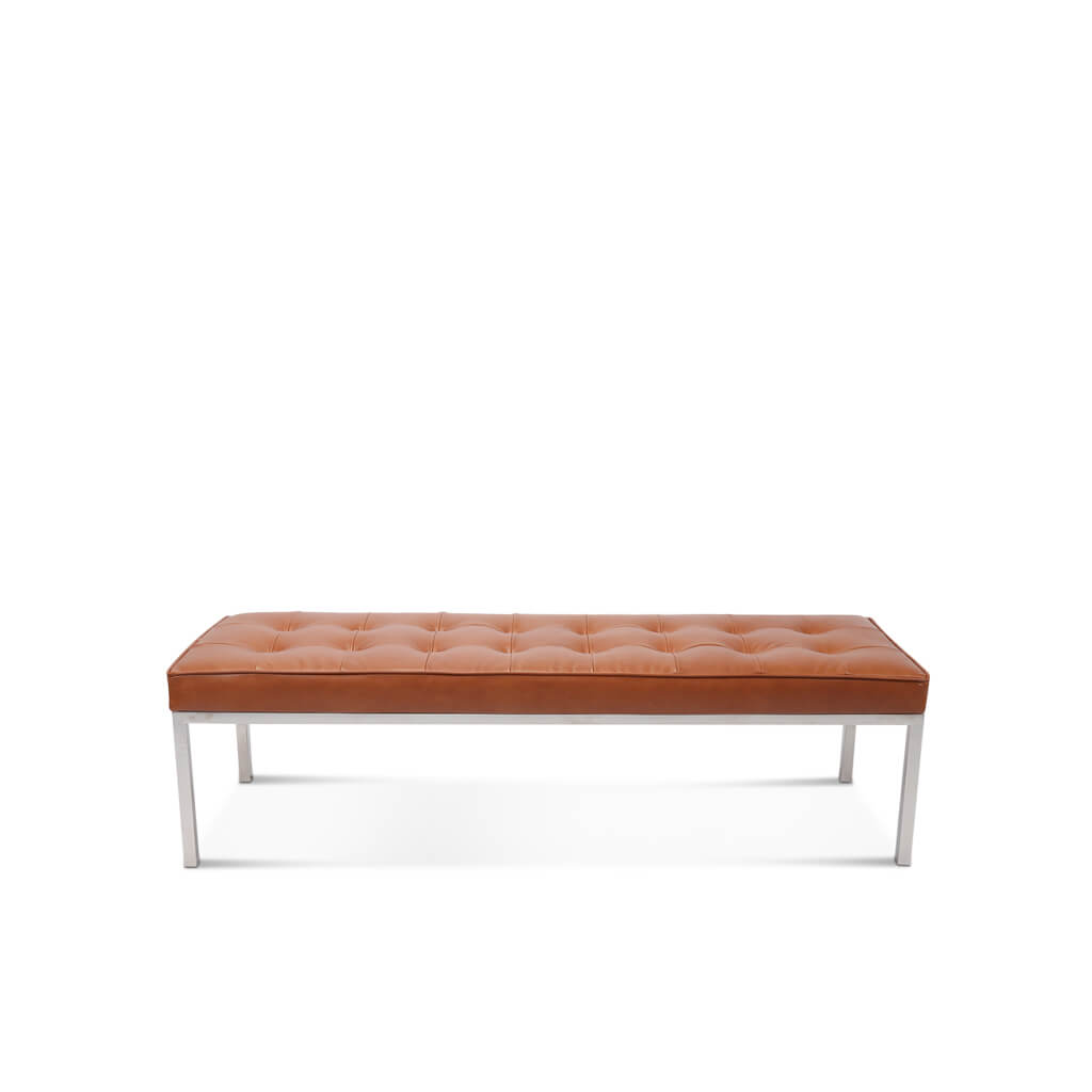Florence Knoll Relaxed Bench - 3 Seats