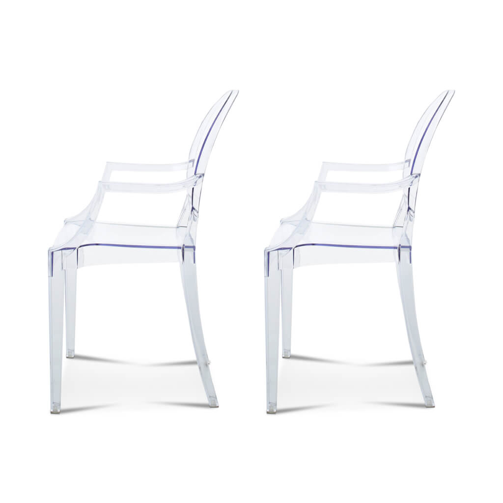26 Off Set Of Two Ghost Armchair Louis Eternity Modern Canada