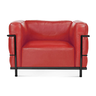 Lc3 Grand Modele Armchair With Down Cushions - EternityModern