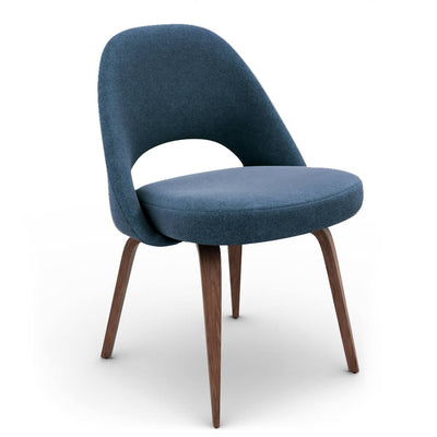 Saarinen Executive Side Chair - Wood Legs - EternityModern