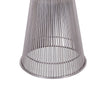 Warren Platner Stool - Gun Metal Black Base
