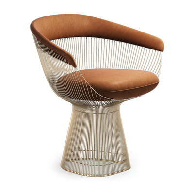 Warren Platner Armchair Gold Base - EternityModern