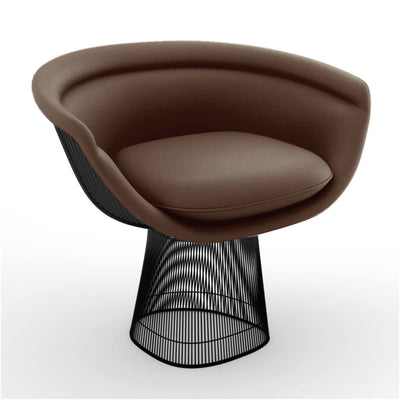 Warren Platner Lounge Chair - Gun Metal Black Base - EternityModern