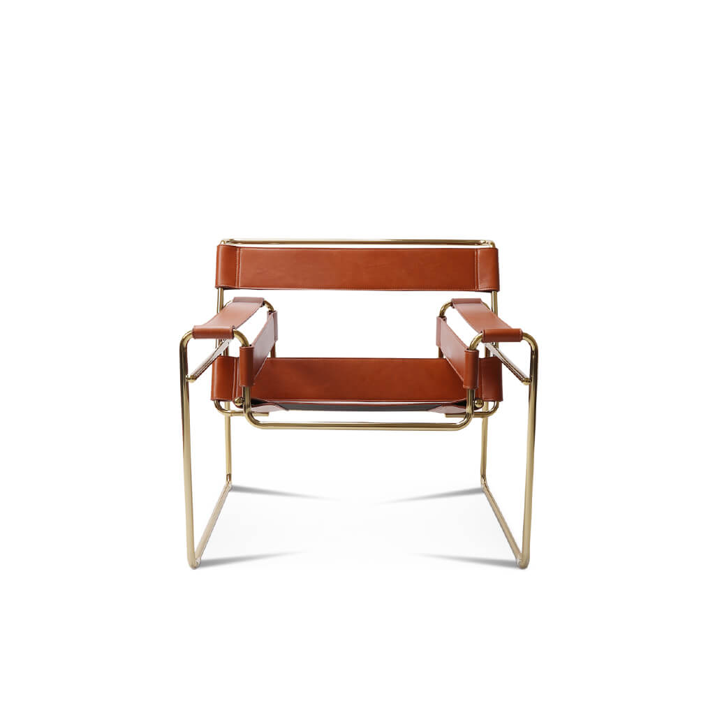 Wassily Chair - Gold Frame