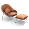 Womb Chair & Ottoman - Chrome Legs
