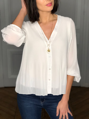Blouse Bianca blanche